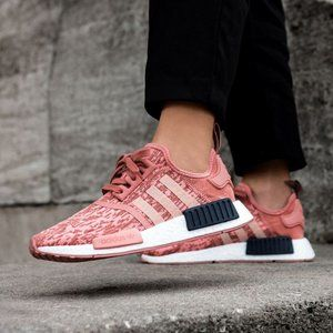 Adidas NMD R1 Trainers Raw Pink BY9648 Size 8